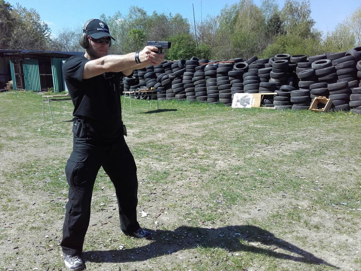 Nácvik postoja a streľby