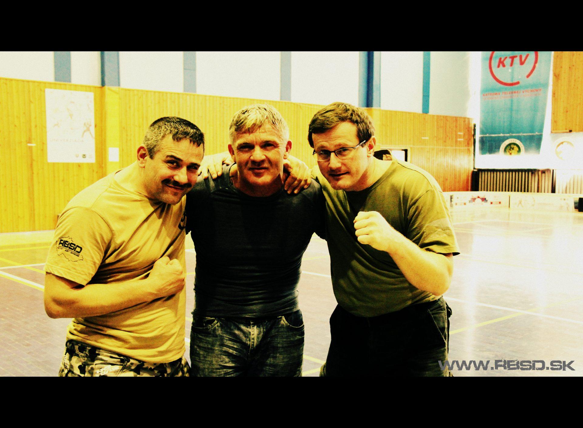 S Lee Morrisonom, zakladateľom Urban Combatives na seminári v Košiciach